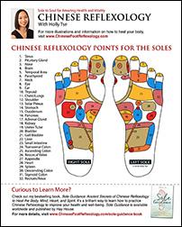 Download Free Chinese Reflexology Foot Chart
