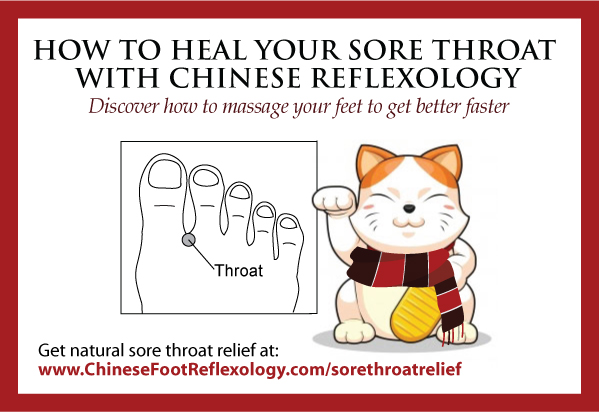 How to Heal Your Sore Throat Naturally With Chinese Reflexology