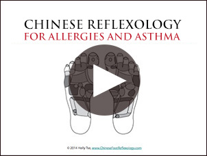 reflexology for allergies and asthma