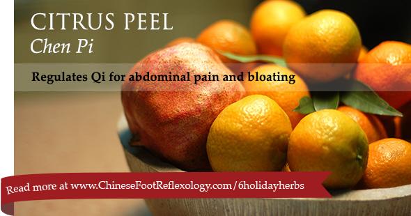 chinese herb citrus tangerine orange peel chen pi used for