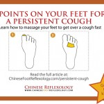 reflexology for persistent cough, lingering cough and post-nasal drip
