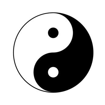 Symbol of Yin Yang