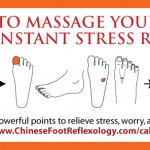 reflexology acupressure points for stress relief and relaxation