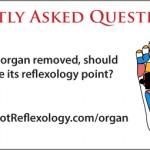 reflexology for missing organ, reflexology removed organ, organ removed