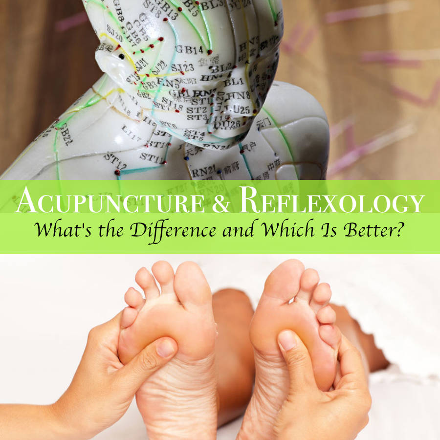 acupuncture versus reflexology versus acupressure
